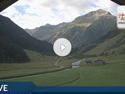 Webcam Tauernhaus Singletrails Gerlos